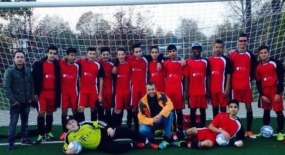 Football Team of the Hamburg-Mitte School