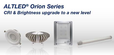 ALT Orion series Recessed Lights Evolves to High CRI, Creating