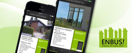 New ENBUS! smartphone app helps home owners on the way to energy efficiency. © Fraunhofer IAO