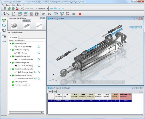 Festo Design Tool 3D