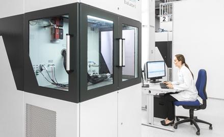 Evaluator test station for fuel cell testing