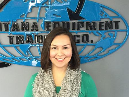 Mayra Ramirez - International Sales Manager for Santana Equipment