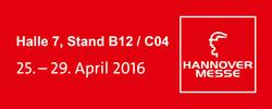 SAP MES expert Trebing + Himstedt at Hannover Messe 2016