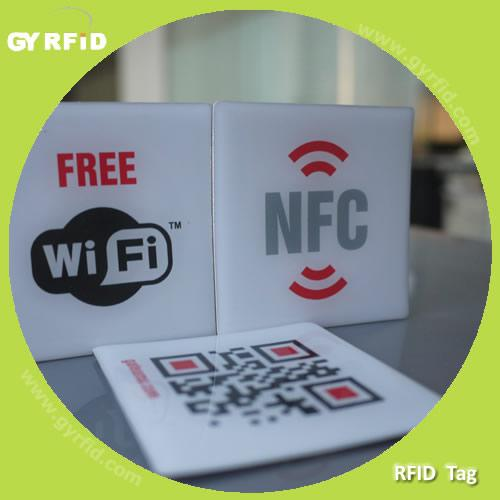 Expoxy mifare sticker for rfid tracking system (gyrfidstore)