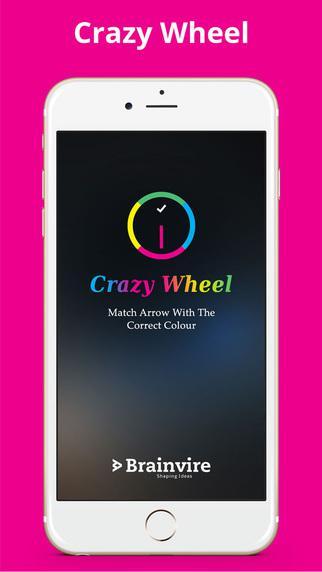 Crazy wheel mobile game app