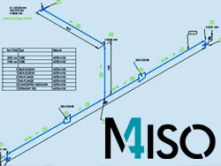 Isometrie-Software-for-non-scale pipeline-isometrics-M4ISO