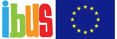 Ibus and EU emblem Logos