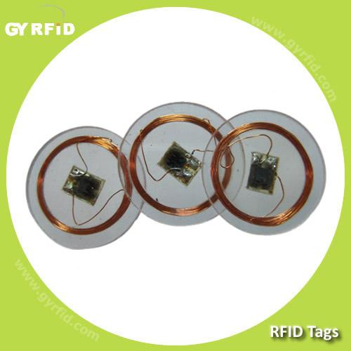 Clear foil tokens,hitag 2 for rfid asset tracking (gyrfidstore)