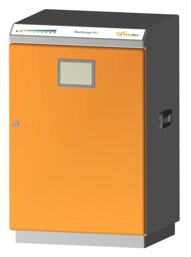 New from SolarMax: the MaxStorage TP-S system solution