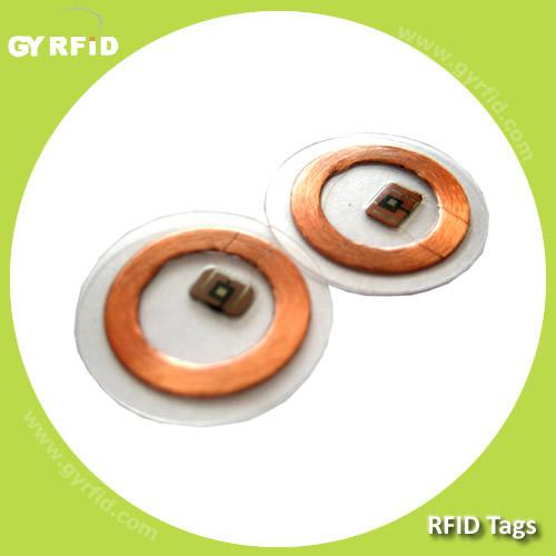 RFID foil tag with mifare 1k for asset tracking