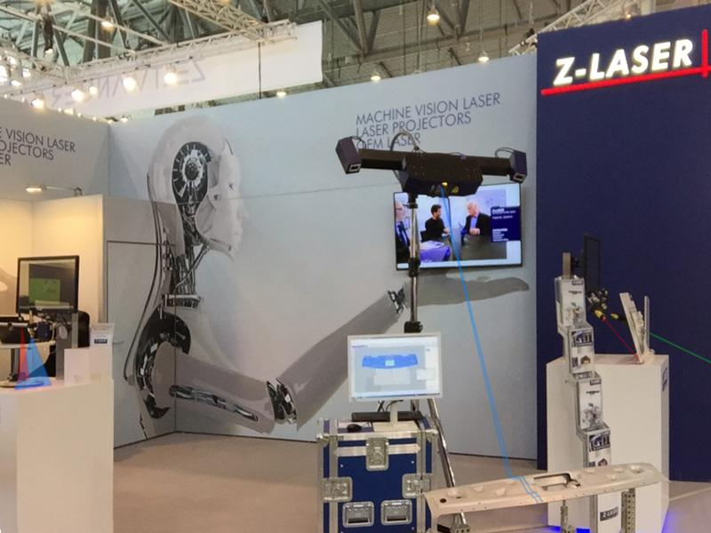 Z-LASER exhibition stand at CONTROL 2016