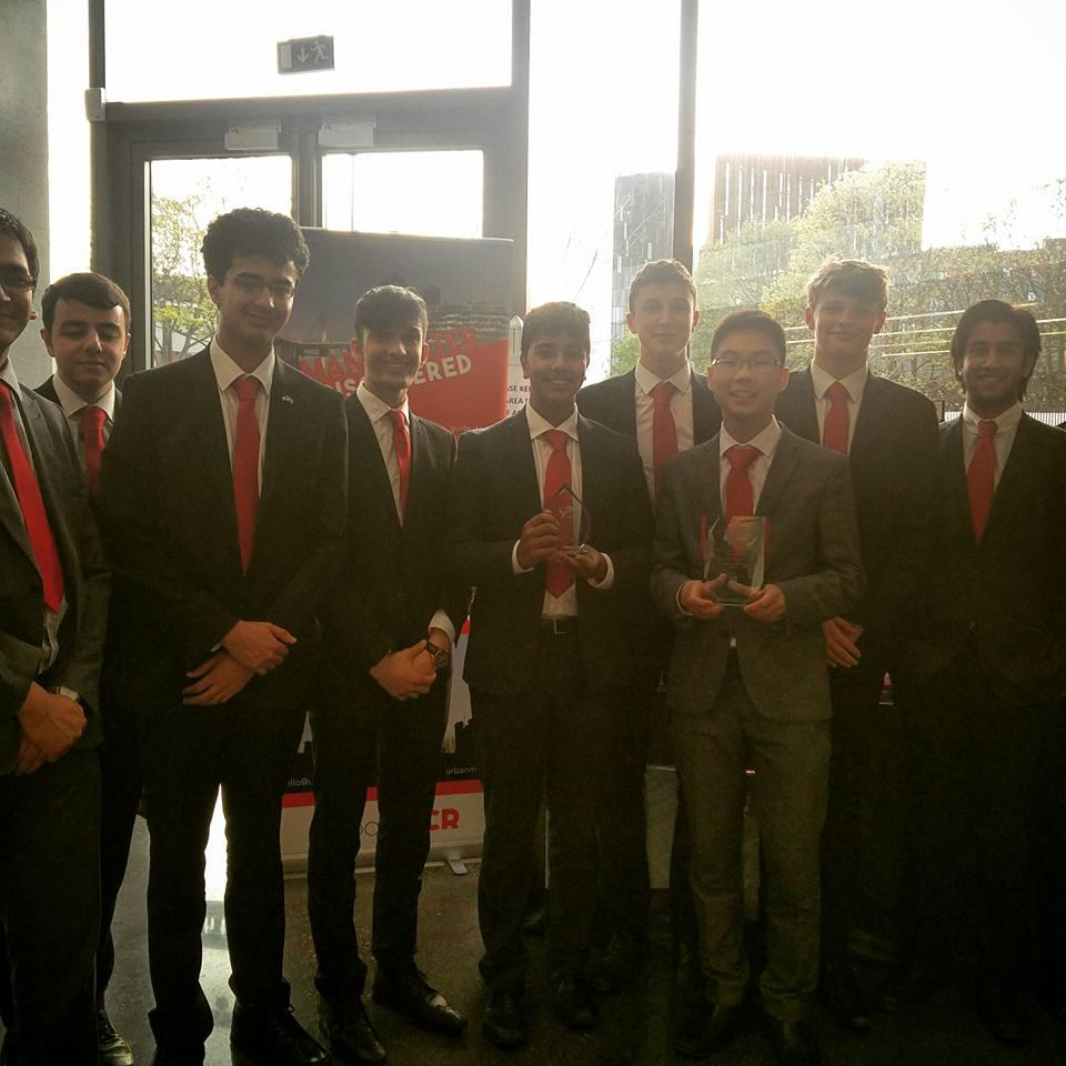 urbanMCR pick up two awards at the Regional Finals