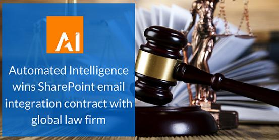 Automated Intelligence wins SharePoint email integration