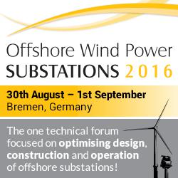 Offshore Wind Power Substations 2016