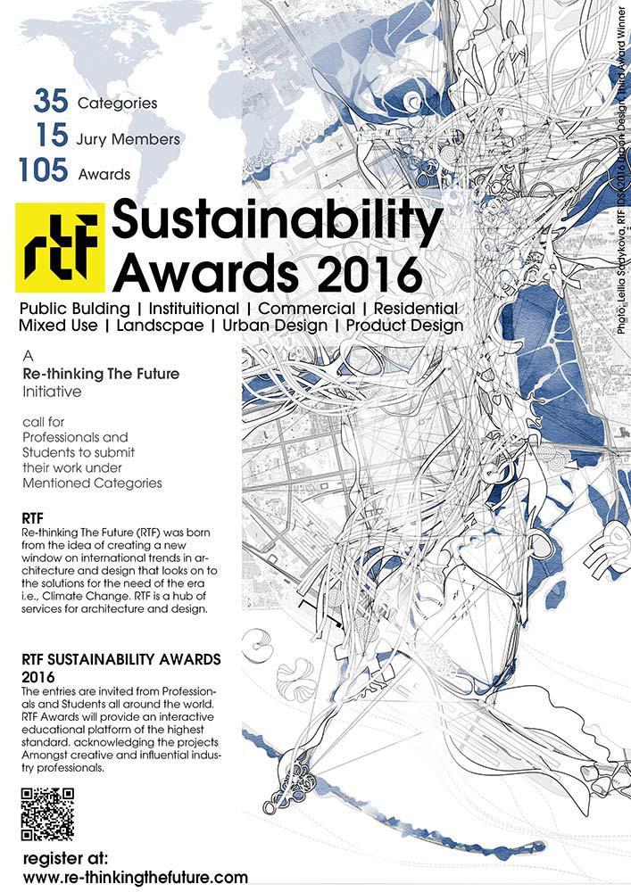 RTF Sustainability Awards 2016 Poster