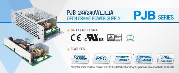Delta PJB-24V240W☐☐A Open Frame Power Supply