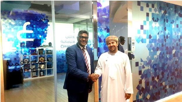 Eng. Bader Al Salehi, Director General of Oman National CERT and the head of ITU-ARCC and Mr. Narendra Kumar, MD, Nispana