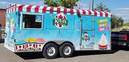 Rita's Ice Trailer