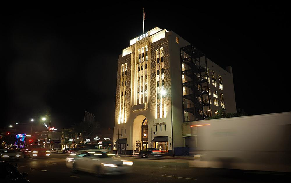 The Masonic Temple, Glendale, CA Courtesy of Structural Focus