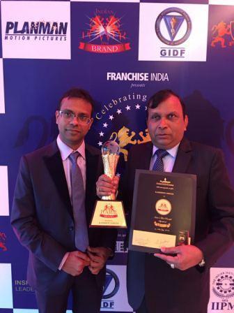 "Kamdhenu Ltd. Shines with ""Indian Power Brand Award 2016"""