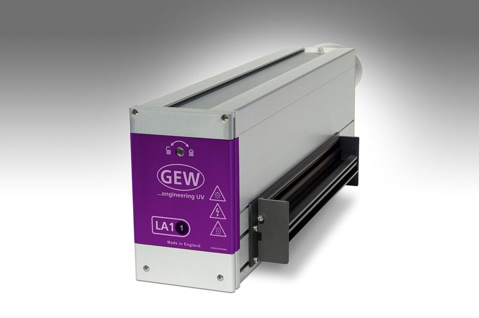 GEW LA1 air-cooled LED UV Lamphead