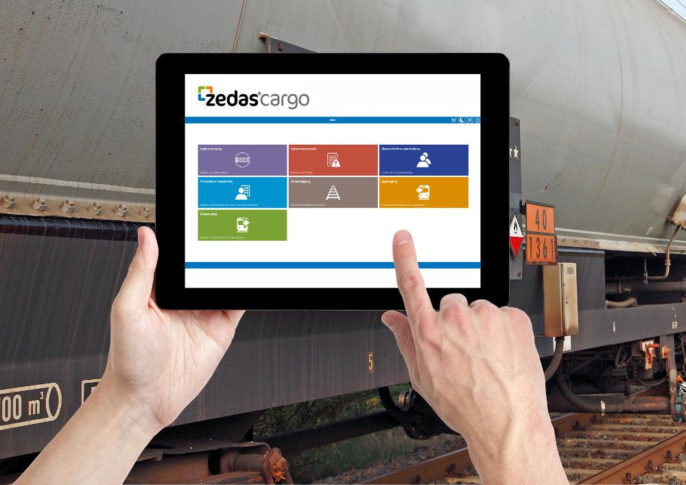 zedas®cargo mobile solution for smartphones and tablets