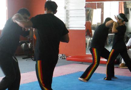 Capoeira en AAMPR, Carolina