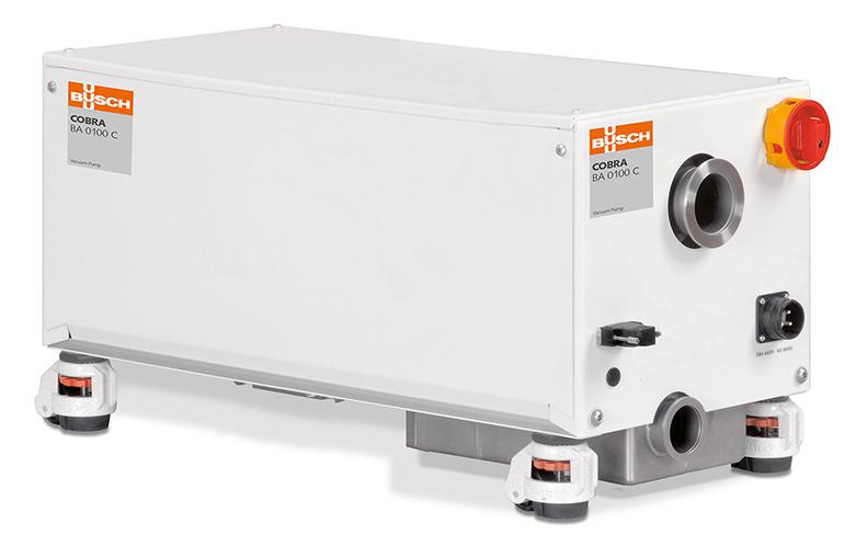 The completely reliable solution for coating processes: the COBRA BA 0100 C dry screw vacuum pump