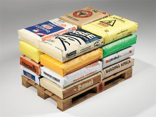AD*STAR cement sacks are made of PP tape fabric and produced with the patented AD*STAR sealing technology. ©Starlinger