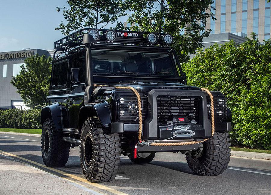 Tweaked Automotive Spectre Edition Land Rover Defender