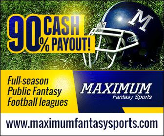 Maximum Fantasy Sports 2016 Fantasy Football PPR Mock Draft