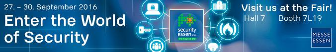Meet Infotecs at Security Essen 2016 in hall 7.0, stand 7L19.