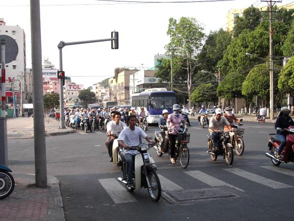 District 1 in Ho Chi Minh City - among tourists and criminals equally popular