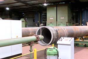 Ceramic Polymer: Internal coating of cooling water intake