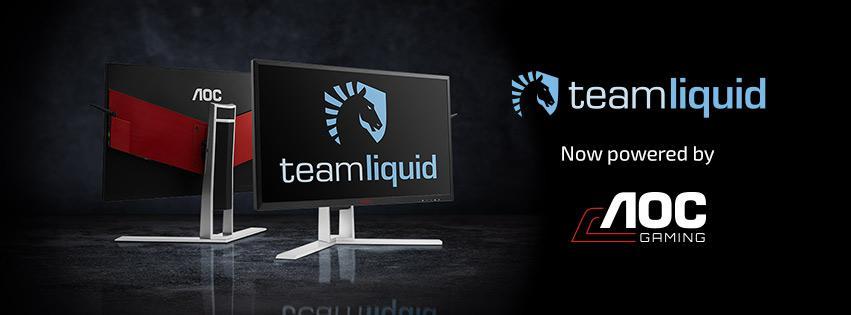 AOC Now Sponsoring Team Liquid | Top Esports Organisation