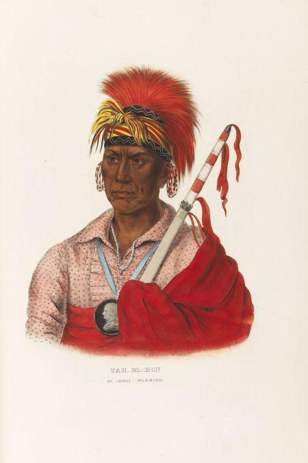 Th. McKenney/ J. Hall, History of the Indian Tribes of North America, around 1873. Estimate: EUR 20,000