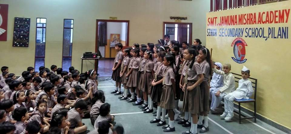 International Day of Non-Violence Gandhi – Shastri Jayanti Swachh Bharat Combo Celebrations at JMA Pilani