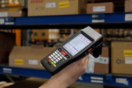 The new BHT-1200 RFID by DENSO.