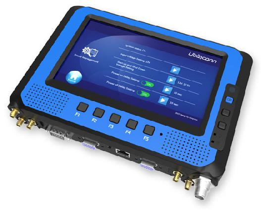 Rugged All-In-One Mobile Data Terminal