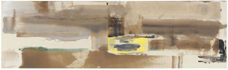 Helen Frankenthaler, Marchioness, 1978, oil on canvas,  41.7 x 144 in, estimate: ? 250,000-350,000.