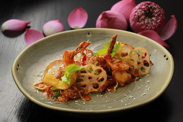 Savor Lotus Roots Dishes throughout November at Hilton Pattaya