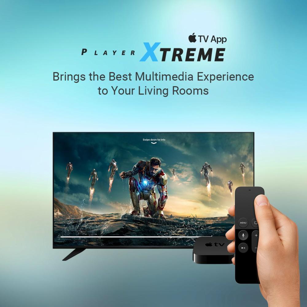 PlayerXtreme Apple TV App - The experience beyond imagination