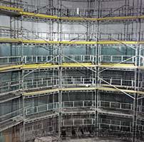 Ceramic Polymer: Internal coating of a huge tank for brewery
