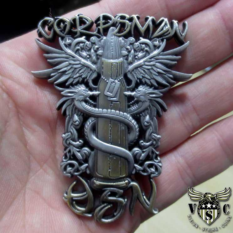 http://www.vision-strike-wear.com/US-Navy-Corpsman-Tribal-Coin.html