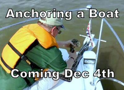 Anchoring a Boat