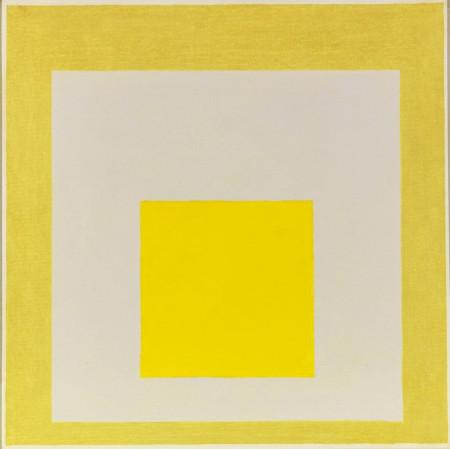 J. Albers, Study for Homage to the Square: Two Yellows with Silvergray, 1960. EUR 180,000-240,000.