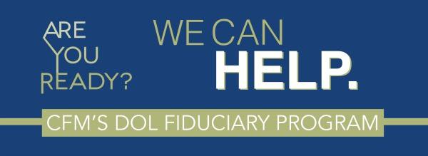 The first comprehensive program designed to help the financial services industry adapt to and prepare for the DOL fiduciary rule.