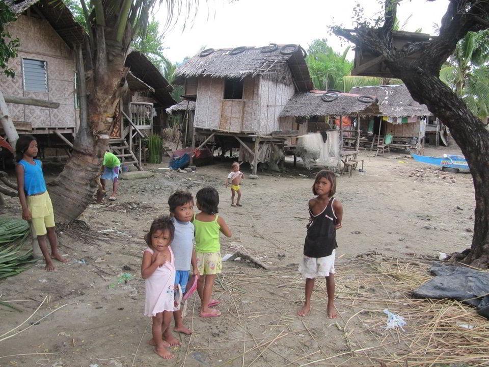 Children of Sitio Baybay, Barangay San Isidro, Tanjay City, Philippines.