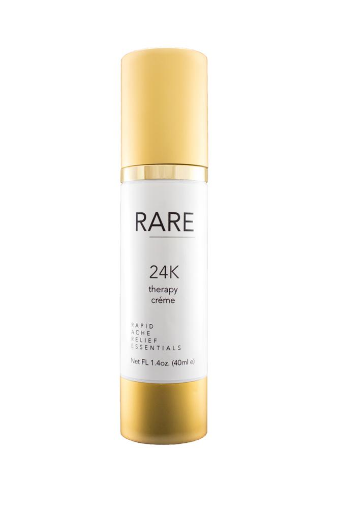RARE 24k Therapy Creme is the new way to help arthritis