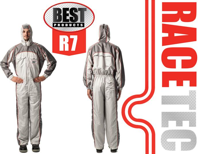 BEST Racetec Coverall PPE for paintshops